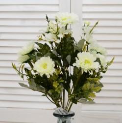"""Цветок искусственный букет """"Ромашка"""" цвет бел. 37см, арт. 4619"""