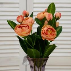 """Цветок искусственный - букет """"Пион"""" 45см, арт. 4620"""