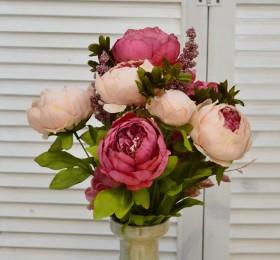 Цветы искусственные, декоративные изделия