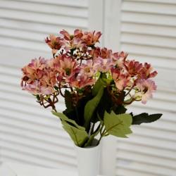 """Цветок искусственный букет """"Ромашка"""" мал. цвет роз. прованс, 28см, арт. 4623"""