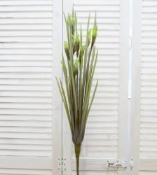"""Цветок искусственный ветка """"Зелнь"""" 100см, арт. 4627"""