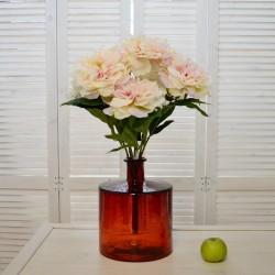 """Цветок искусственный букет """"Пион Крит"""" нежно роз. 50см., арт. 4642"""