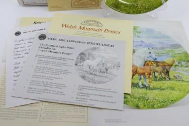 "Тарелка декоративная ""Пони"" + сертификат 21,5см., арт. 4669"