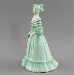 """Статуэтка """"Девушка в зеленом платье"""", арт. 4684"""