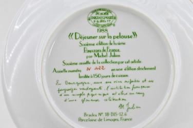 "Тарелка декоративная, набор 2шт. ""Пейзажи Франции"" Замок, арт. 4691"