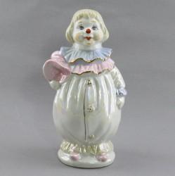 "Статуэтка ""Клоун в розовом""  19,5см, арт. 4836"