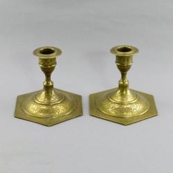 Подсвечники пара на 1 свечу, арт. 4852