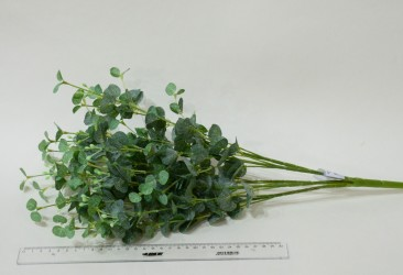 """Цветок искусственный куст зелень """"Эвкалипт"""" 50см, арт. 4897"""