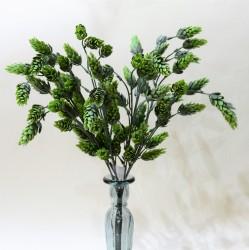 """Цветок искусственный куст зелень """"Хмель"""" 47см, арт. 4903"""
