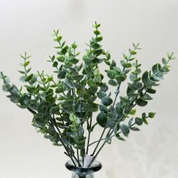 """Цветок искусственный куст зелень """"Самшит"""" 35см, арт. 4915"""