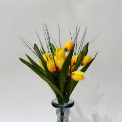"""Цветок искусственный куст """"Крокус весенний"""" 3 вида, 33см, арт. 4917"""