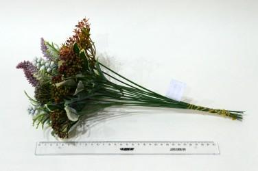 """Цветок искусственный букет """"Ассорти"""" 40см, арт. 4923"""