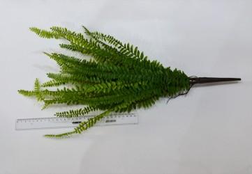 Цветок искусственный лесной папоротник (силикон) 61см, арт. 4928