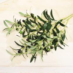 Цветок искусственный ветка оливы 90см, арт. 4929