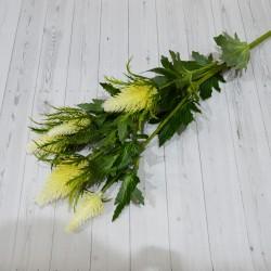 """Цветок искусственный куст """"Чертополох"""" 78см, арт. 4930"""
