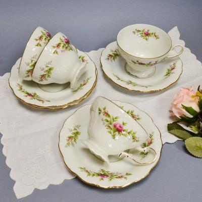 """Чайная пара """"Чайная роза"""" 4шт. , арт. 4946"""
