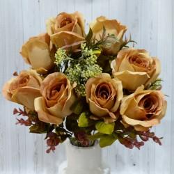 """Цветок искусственный букет роз прованс """"Стелс"""" 50см, арт. 4954"""