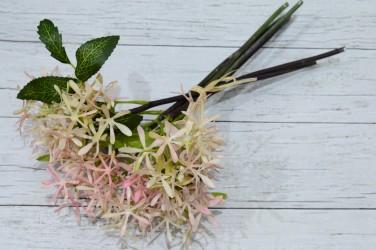 Цветок искусственный срез чертополох роз. 7 вет. 34 см, арт. 4955
