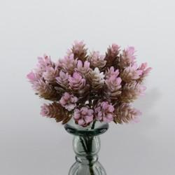 """Цветок искусственный срез """"Хмель"""" с напылением 19см, арт. 4957"""