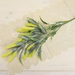 Цветок искусственный ветка пшеница 78см, арт. 4962
