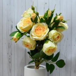 Цветок искусственный букет срез камелия 44см, арт. 4963