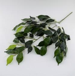 Цветок искусственный ветка листьев h=75см, арт. 5050/1