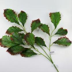 Цветок искусственный ветка листьев h=75см, арт. 5050/2