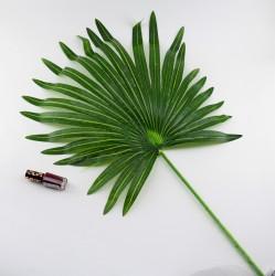 """Цветок искусственный одиночный лист пальмы """"Веер"""" h=72см, арт. 5051"""