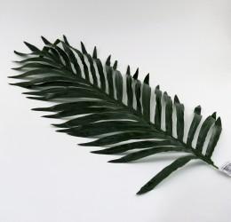 Цветок искусственный одиночный лист пальмы h=65см, арт. 5053