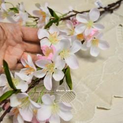 Цветок искусственный ветка яблоня 90см, арт. 5058/2
