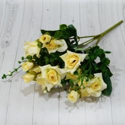 """Цветок искусственный букет роз """"Анита"""" 32см, арт. 5068"""