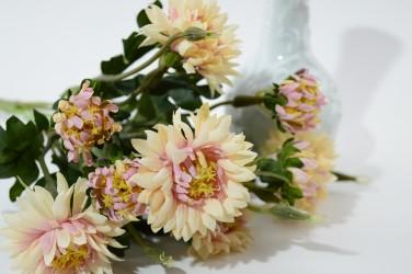 """Цветок искусственный букет маргаритки """"Горец"""" роз. 10г. h=30см, арт. 5071"""