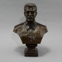 """Бюст """"Сталин"""" бронза, арт. 5140"""