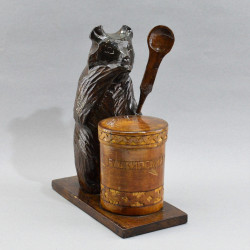 "Фигура - банка для меда ""Медведь. Башкирский мед"", арт. 5153"