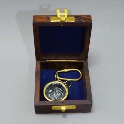 """Брелок компас в футляре """"Якорь"""", арт. 5161"""