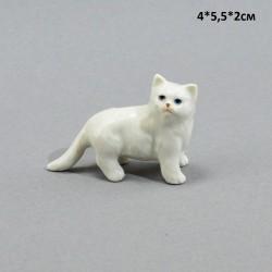 """Фигура миниатюра """"Кошка персидская белая"""", арт. 5228"""
