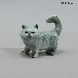 """Фигура миниатюра """"Кошка персидская серая"""", арт. 5229"""