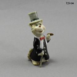"""Фигура миниатюра  """"Кот джентельмен"""", арт. 5233"""