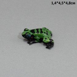 """Фигура миниатюра  """"Лягушка лесная"""", арт. 5236"""