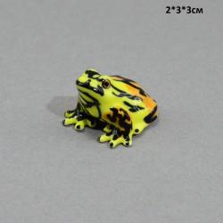 "Фигура миниатюра  ""Лягушка желтая"", арт. 5238"