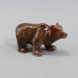 """Фигура миниатюра  """"Медведь бурый"""", арт. 5242"""
