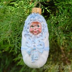 "Елочная игрушка ""Ребенок. Лялька "" мальчик арт. 5261 ID4260"
