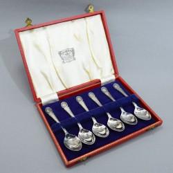"""Чайные ложки, набор 6шт в футляре """"Коронация. Елизавета II"""" , арт. 5303"""