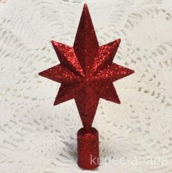 "Елочная верхушка ""Звезда"" арт. 5315 ID4288"