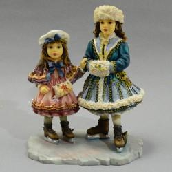 """Статуэтка """"Девочки  на катке"""", арт. 5348"""