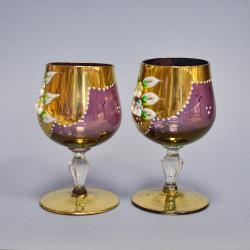 Бокалы из цветного стекла, 2шт., арт. 5362