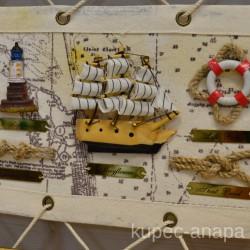 "Картина - панно ""Морские узлы"" арт. 5399"