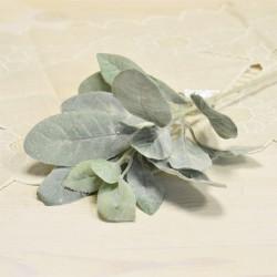 Цветок искусственный ветка чистец шерстистый h=36см, арт. 5420