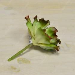Цветок искусственный суккулент срез листья салата 17см, арт. 5430/1
