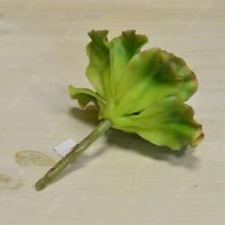 Цветок искусственный суккулент срез листья салата 17см, арт. 5430/2